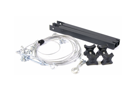 Immagine di 8ft Crane Cable Kit (includes 8ft crane cable, 2 cable upright supports and tooless knobs)