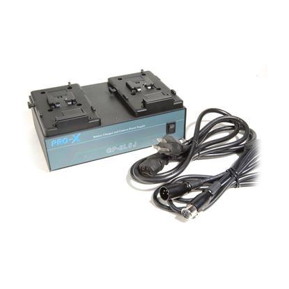 Εικόνα της V-mount dual battery charger